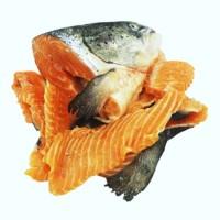 Рыбный суповой набор, лосось с/м