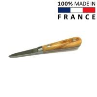 Устричный нож с деревянной ручкой (Франция)